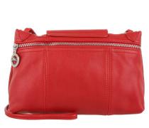 Tasche - Le Pliage Cuir Messenger Crossbody Bag Red