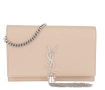 Umhängetasche Kate Chain Tassel Wallet Leather Powder rosa
