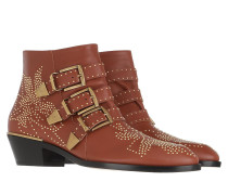 Boots Susanna Nappa Chestnut Brown