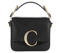 Umhängetasche C Bag Mini Leather Black
