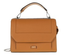 Crossbody Bags Ninon Grained Leather Flap Bag Large