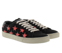 Star Sneakers Black/Red