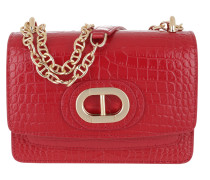 Umhängetasche Dee Siena Cocco Small Crossbody Red