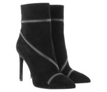 Boots & Booties - Goldie Soho Suede Booties Black
