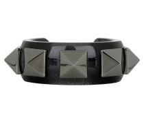 Schmuck - Studded Bracelet Black