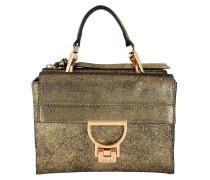 Suede Metal Umhängetasche Bag Or