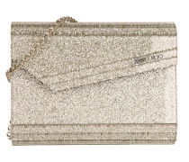 Candy Clutch Acryl Champagne gold