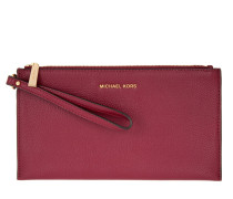 Mercer LG Zip Clutch Cherry rot