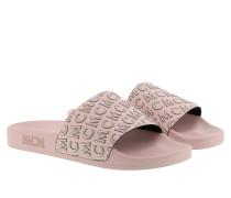 Schuhe Diagonal Logo Slide Soft Pink