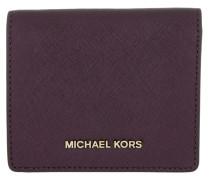 Money Pieces Flap Card Holder Damson Portemonnaie