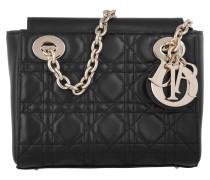 Tasche - Lady Dior Small Lambskin Pochette Noir