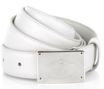 Kleinleder - Saffiano Leather Belt Talco