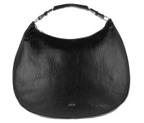 Aja Hobo Large Bubble Black Bag