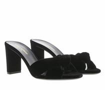 Slipper & Pantoletten Sandals Leather