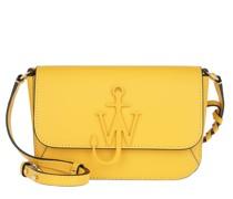 Umhängetasche Braided Midi Anchor Crossbody Bag Yellow