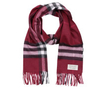 Giant Icon Scarf Plum Check Schal