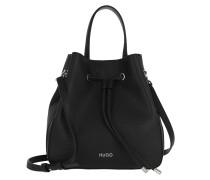 Beuteltasche Victoria Drawstring Bag Black