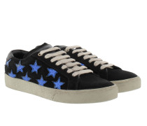 Star Sneakers Black/Blue