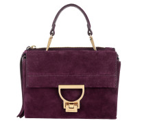 Arlettis Suede Handle Bag Raisin