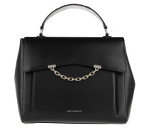 Satchel Bag Karl Seven Top Handle Black