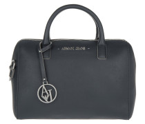Tasche - Eco Saffiano Mini Satchel Bag Dark Navy