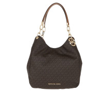 Tote Lillie Large Chain Shoulder Brown/Acorn
