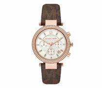 Uhr Ladies Parker Chronograph PVC Watch