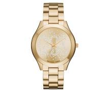 Ladies MK Slim Runway Watch -Tone Armbanduhr