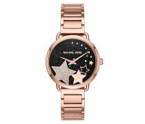 Portia Ladiesmetals Watch Rosegold Armbanduhr
