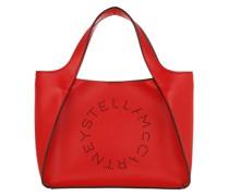 Tote Logo Crossbody Bag Eco Soft Red Amore