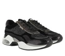 Sneakers Ventura Lazare Glitz Sneaker Black Glitter Silver