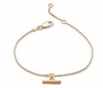 Armband Mini Gold T-Bar Bracelet