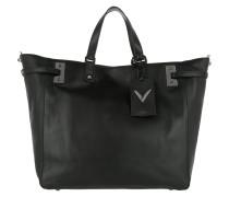 Rockstud Shopping Bag Nero Umhängetasche