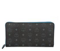 Color Visetos Large Zip Around Wallet Black Portemonnaie