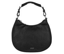 Aja Mini Hobo Bubble Black Bag schwarz