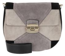 Club S Crossboy Bag Argilla/ Sabbia/ Onyx grau