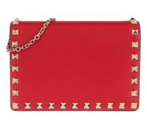 Crossbody Bags Rockstud Chain Leather Shoulder Bag