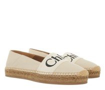 Espadrilles Woody Espadrille Leather & Canvas
