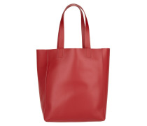 Tasche - Ruga Shopping Bag Calf Leather Red