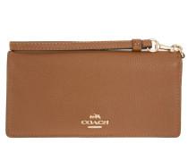 Kleinleder - Slim Leather Wallet Saddle