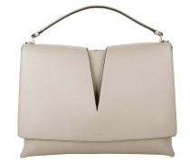 Tasche - View Calf Leather Handle Bag Cream