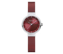 Uhr Watch Solar Women Red