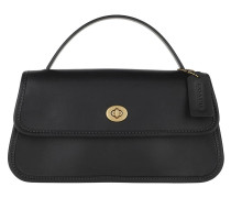 Umhängetasche Turnlock Clutch Black