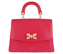 Lauree Looped Bow Lady Bag Deep- Satchel