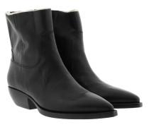 Theo Bootie Black Schuhe