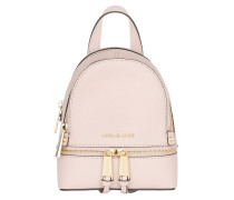 Rhea Zip XS Messenger Backpack Soft Pink Rucksack