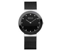 Uhr Watch Ceramic Women Schwarz