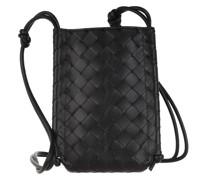 Umhängetasche The Mini Knot Crossbody Bag Black