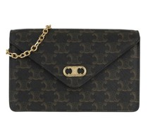 Crossbody Bags Chain Wallet Leather
