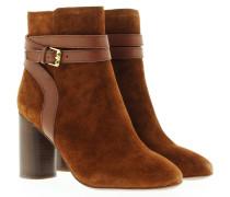 Boots & Booties - Glenda Bootie Suede Baby Silk Brasil Sigaro